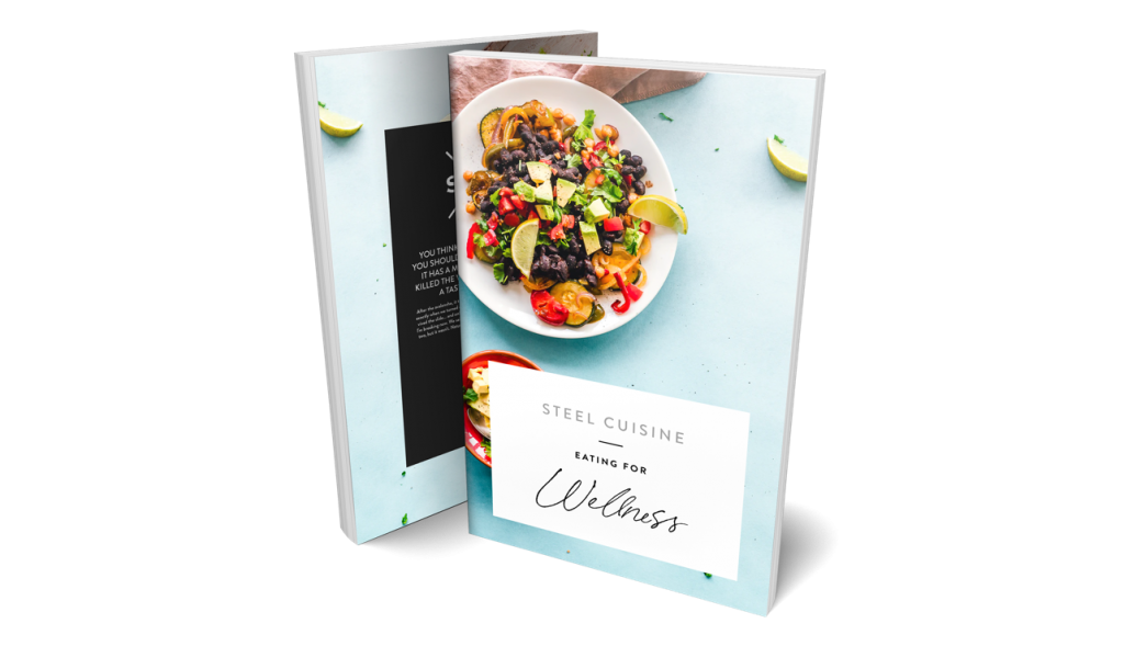 Steel Cuisine Recipe Book